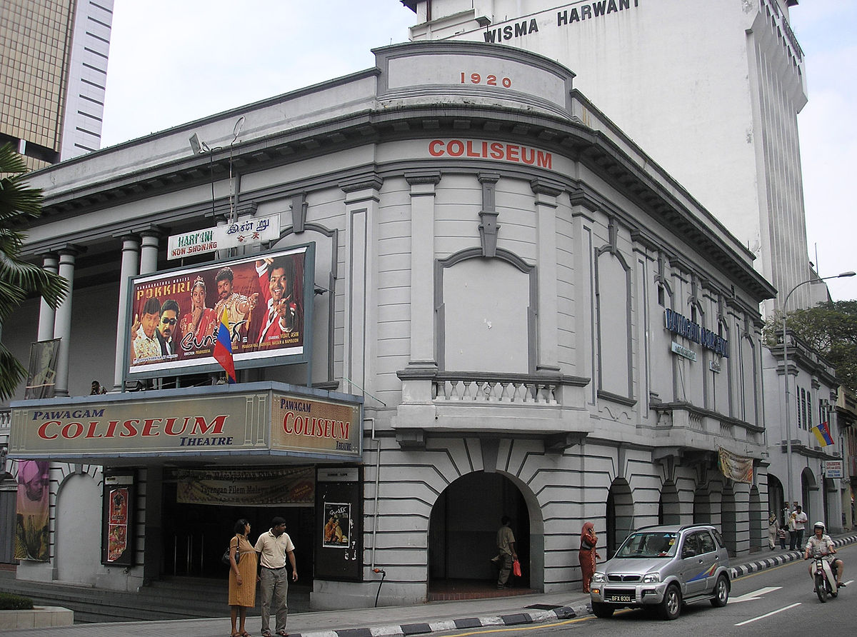 The Coliseum Theatre in Jalan Tunku Abdul Rahman