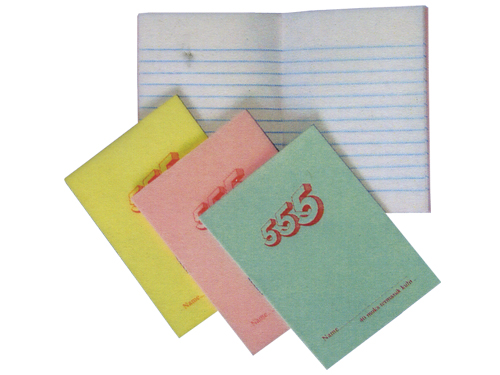 555 Notebooks